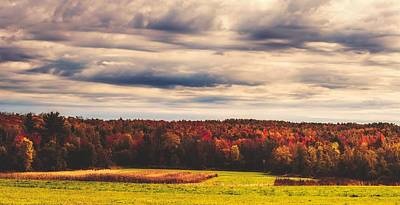 Photograph - An Autumn Day In Maine by Library Of Congress
