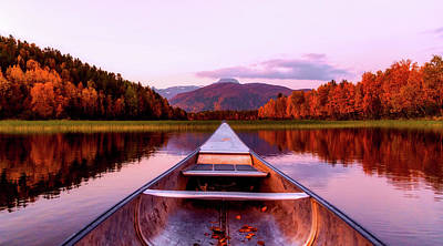 Photograph - An Autumn Day On The Lake by Pixabay