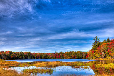 Autumn Landscape Photograph - An Autumn Day On West Lake by David Patterson