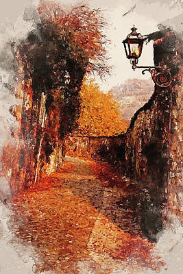 Painting - An Autumn Full Of Magic - 01 by Andrea Mazzocchetti
