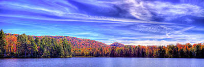 Photograph - An Autumn Panorama by David Patterson