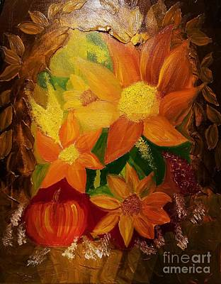 Painting - An Autumn Treasure by Maria Urso
