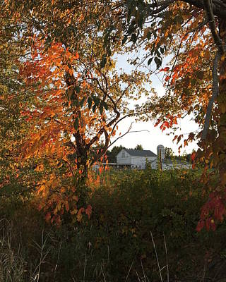 Photograph - An Autumn View Of The Farm by Heidi Moss