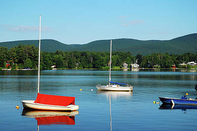 Photograph - An Early Calm On A Berkshire Lake by James Kirkikis