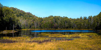 Photograph - An Early Fall Day At Fly Pond by David Patterson