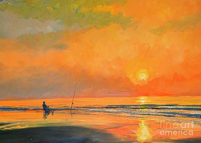 Painting - An Early Line by Keith Wilkie
