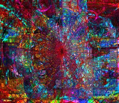 Mixed Media - An Early November Dream by Fania Simon