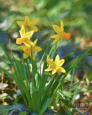 Photograph - An Easter Bouquet by Kerri Farley