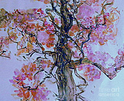 Digital Art - An Easter Oak by Nancy Kane Chapman