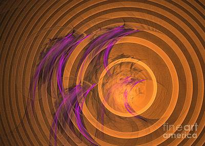Digital Art - An Echo From The Past - Abstract Art by Sipo Liimatainen
