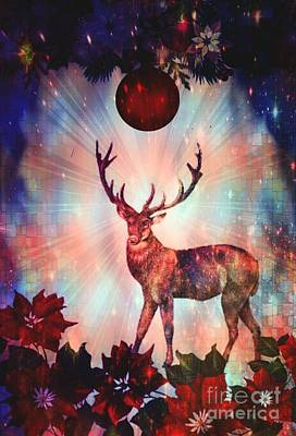 Digital Art - An Enchanted Christmas by Maria Urso