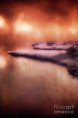 Photograph - An Eternal Glow Outer Banks by Dan Carmichael