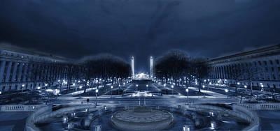 An Evening At The Capitol Art Print