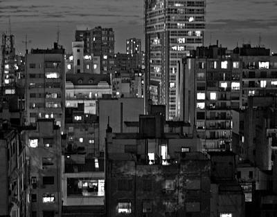An Evening In Buenos Aires Art Print