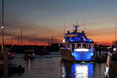 Art Print featuring the photograph An Evening In Newport Rhode Island Iv by Suzanne Gaff