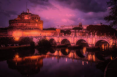 Photograph - An Evening In Rome by Pixabay