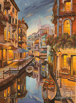 Painting - An Evening In Venice by Charlotte Blanchard
