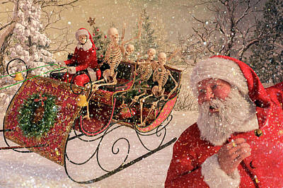Christmas Holiday Scenery Photograph - An Evening Of Fun by Betsy Knapp