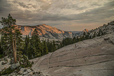 Photograph - An Evening On Olmstead Point - Pt 2 by Doug Scrima