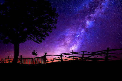 Mood Swings Photograph - An Evening Under The Milky Way by Pixabay