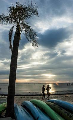 Seascape Photograph - An Evenings Idyl by Norman Johnson