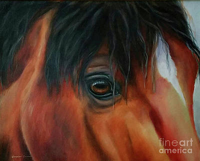 Painting - An Eye For Beauty by Charice Cooper