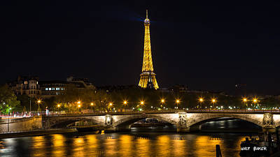 Photograph - City Of Lights by Walt  Baker