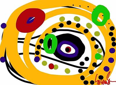 Digital Art - An Eye On You by Susan Fielder