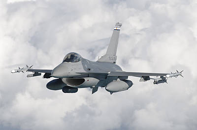 F-16 Photograph - An F-16 From The Colorado Air National by Giovanni Colla