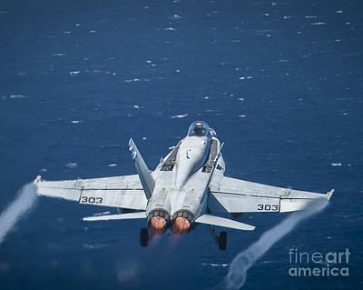 An F A-18c Super Hornet Art Print