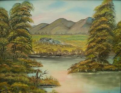Painting - An Fullacht Fia by Noel Barry