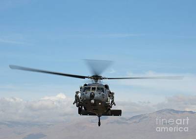 Painting - An Hh-60g Pave Hawk by Celestial Images