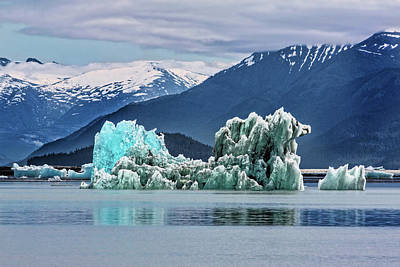 Photograph - An Iceberg In The Inside Passage Of Alaska by Kay Brewer
