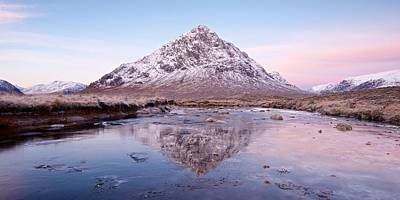Photograph - An Icy Dawn In Glencoe by Stephen Taylor
