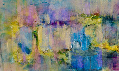Unexpected Quality Mixed Media - An Iridescent Oil Slick  by Don  Wright