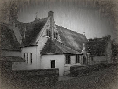 Photograph - An Irish Church by Dave Luebbert
