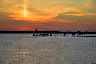 Photograph - An Island At Sunset by Diana Mary Sharpton
