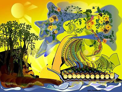 An Island Dream Art Print by Gary Kennedy