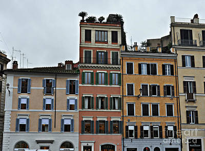 Photograph - An Italian City View by Eric Liller