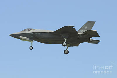 Joint Strike Fighter Photograph - An Italian F-35a Aircraft by Riccardo Niccoli