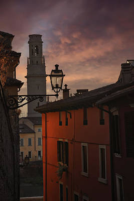 Veneto Photograph - An Italian Sunset by Carol Japp
