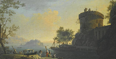 Painting - An Italianate Landscape With The Tomb Of The Plautii by Thomas Patch