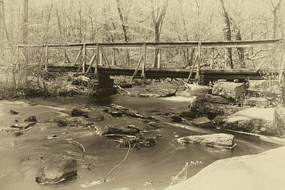 Photograph - An Old Bridge by Brian Hale