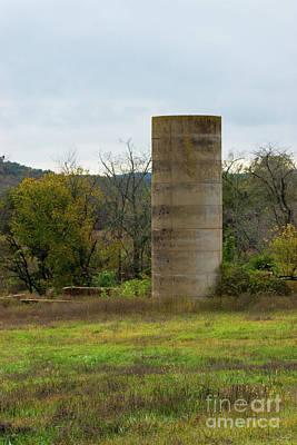 Photograph - An Old Farm Silo by Jennifer White