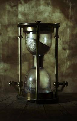 An Old Hourglass Art Print