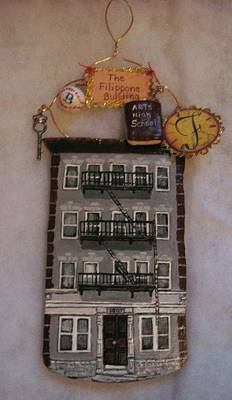Clay Painting - An Old Jersey Memory by Sandra Oropeza