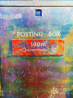 Photograph - An Old Postbox by Tom Gowanlock
