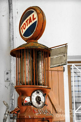 Photograph - An Old Satam Petrol Pump In Savensa by RicardMN Photography