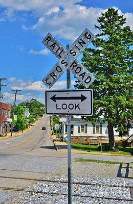 Photograph - An Old Sign With A New Look by Bob Sample