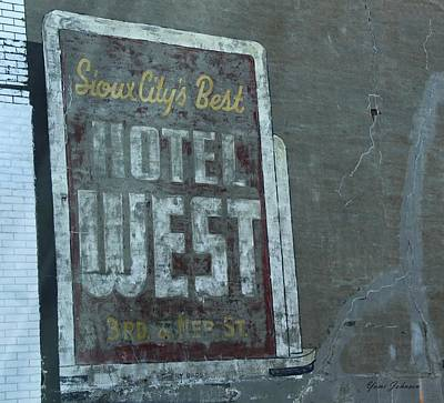 An Old Sign Art Print